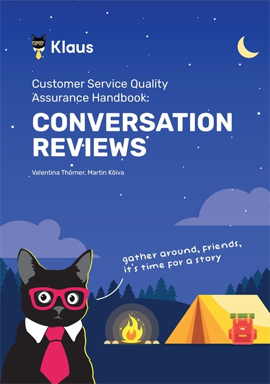 Customer Service Quality Handbook: Conversation Reviews
